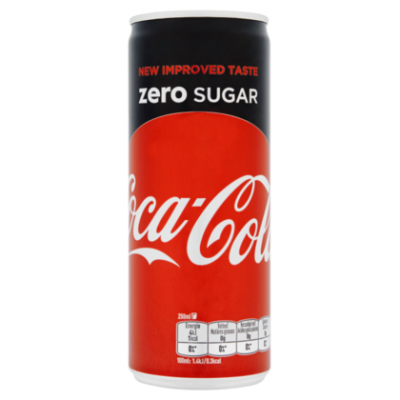 Coca-Cola zero sugar 250ml