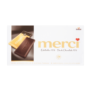 Merci Chocolade Tablet Puur 72% 100g