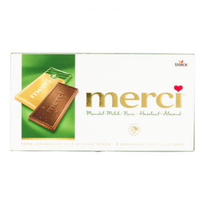 Merci Chocolade Tablet Amandel-Hazelnoot 100g
