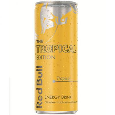 Red Bull The Summer Edition Energy Drink Tropical 250ml
