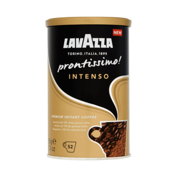 Lavazza Prontissimo! Intenso Premium Instant Coffee 95g