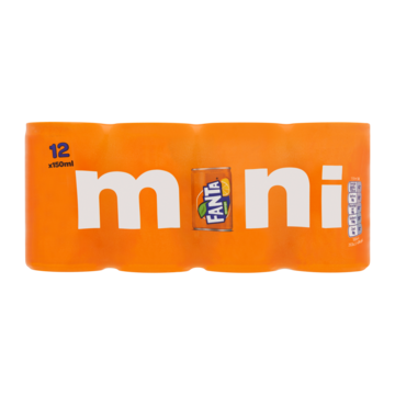 Fanta Orange Mini 12 x 150ml