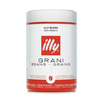 illy Grani Beans - Grains Roasted Coffee Beans 250g