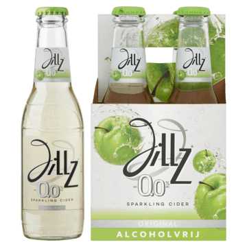 Jillz Original 0.0% Fles 4 x 23cl