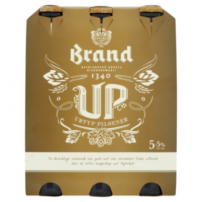 Brand Up Bier Flessen 6 x 30cl