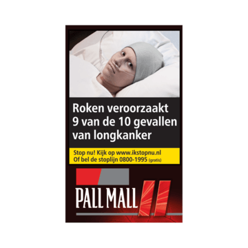Pall Mall Red L Pouch 30g