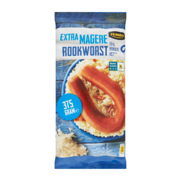 Jumbo Extra Magere Rookworst 375g