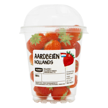 Jumbo Aardbeien Hollands 180g
