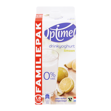 Optimel Drinkyoghurt Limoen Familiepak 1800ml