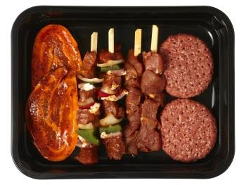 Barbecueschotel extra