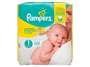 Pampers Premium protection new baby maat 1