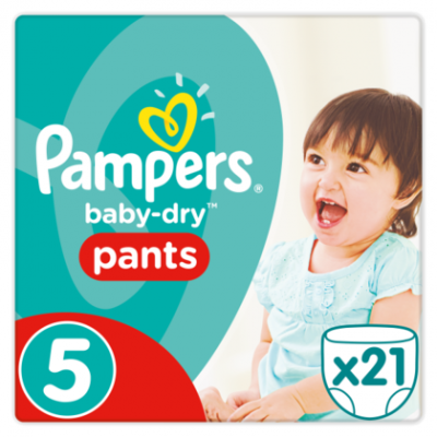 Pampers Baby dry pants maat 5