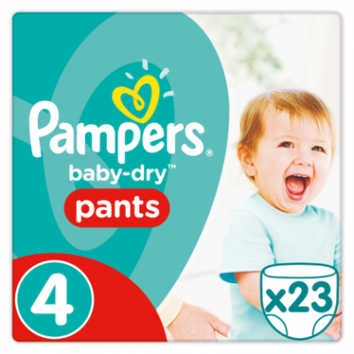 Pampers Baby dry pants maat 4