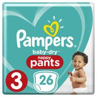 Pampers Baby dry pants midi 3
