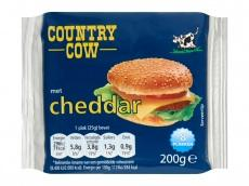 Country Cow Cheddar plakjes