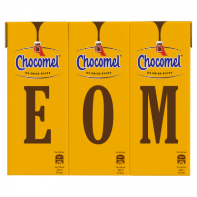 Chocomel Vol (UTZ gecertificeerd) 6 x 200 ml