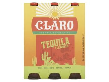 Claro Tequila Bier 3-Pack