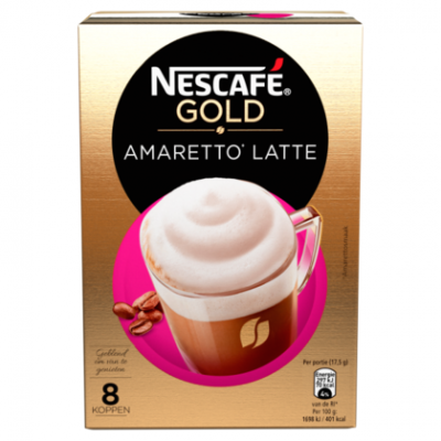 Nescafe Latte amaretto 8 sticks