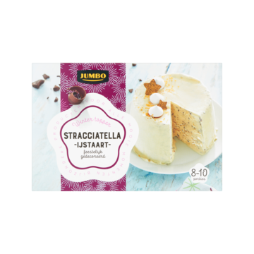 Jumbo Winter Topper Stracciatella Ijstaart 1550ml