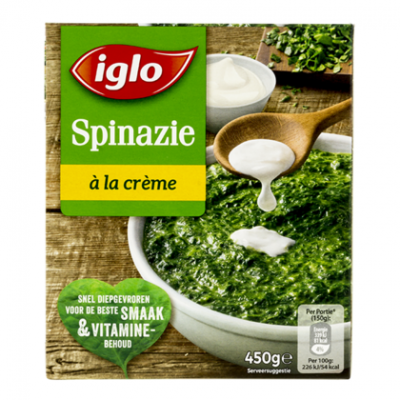 Iglo Fieldfresh spinazie a la creme