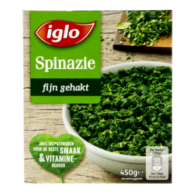 Iglo Fieldfresh gehakte spinazie