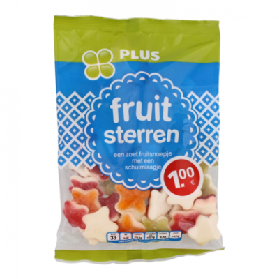 PLUS Fruit sterren