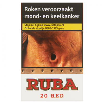 Ruba Sigaretten red