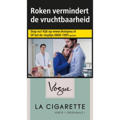 Vogue Sigaretten green menthol