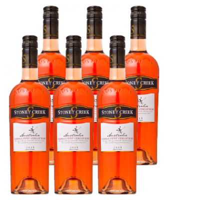 Stoney Creek Shiraz rose Doos