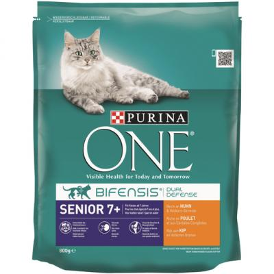 Purina one cat senior kip 800 gram