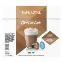 Café Royal Chai tea latte dolce gusto compatible