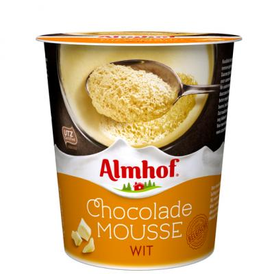 Almhof Witte chocolademousse