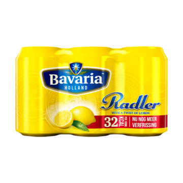 Bavaria 2.0 Radler Lemon Blik 6 x 33cl