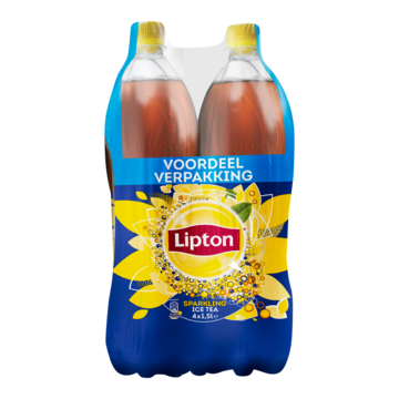 Lipton Ice Tea Sparkling Original 4 x 1, 5L