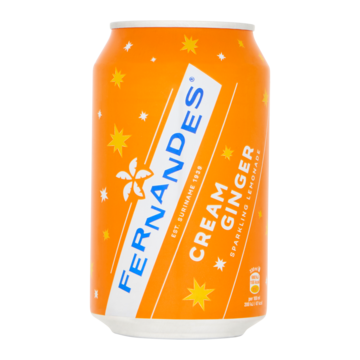 Fernandes Cream Ginger Sparkling Lemonade 0, 33L