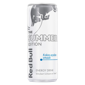 Red Bull The Summer Edition Kokos-Açaibes Smaak Energy Drink 250ml