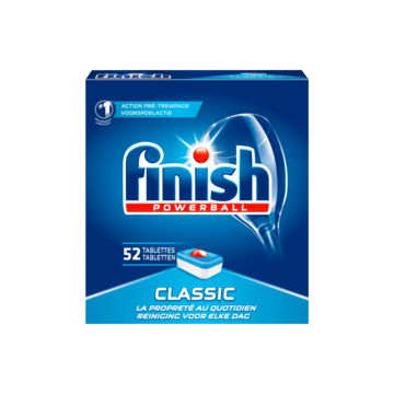 Finish Powerball Classic 52 Tabletten 832g