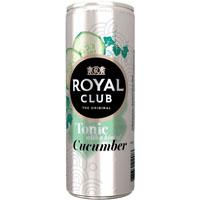 Royal Club Tonic with a Hint of Cucumber 0, 25L