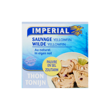 Imperial Tonijn Wilde Yellowfin in Eigen Nat 100g