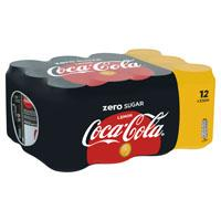 Coca-Cola Zero sugar lemon blik
