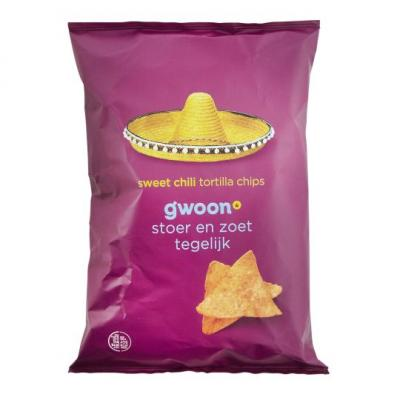 g'woon Tortilla chips sweet chili