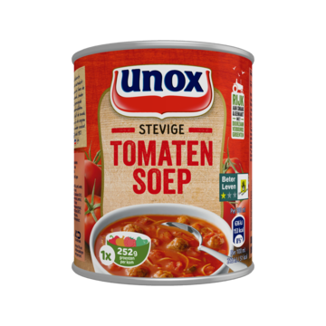 Unox Soep in Blik Stevige Tomatensoep 300ml