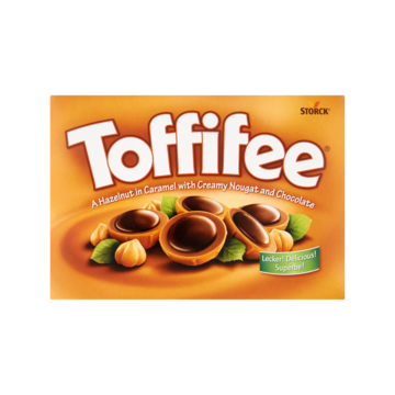 Toffifee A Hazelnut in Caramel with Creamy Nougat and Chocolate 48 Stuks 400g