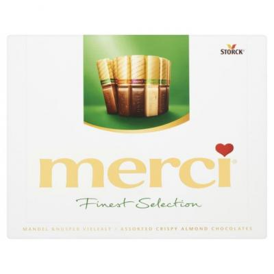 Merci Finest selection amandel