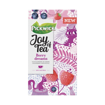 Pickwick Joy of Tea Berry Dreams 15 Stuks
