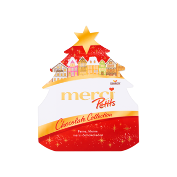 Merci Petits Chocolate Collection Kerstboom 150g