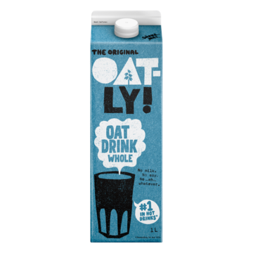 Oatly The Original Oat Drink Whole 1L