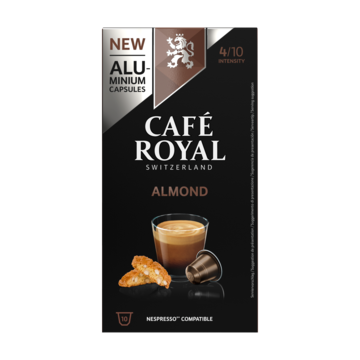 Café Royal Almond Flavoured Edition 10 Capsules 50g