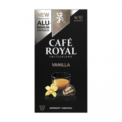Café Royal Vanilla Flavoured Edition 10 Capsules 50g