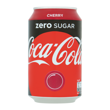 Coca-Cola Zero Sugar Cherry 330ml
